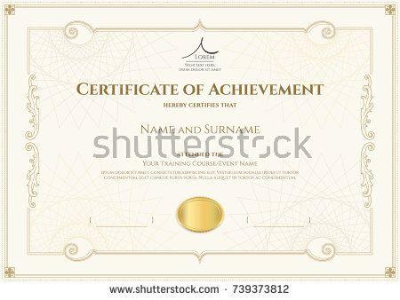 25+ ide terbaik Graduation certificate template di Pinterest - graduation certificate