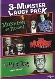 3-Munster Laugh Pack: Munster, Go Home!/The Munsters' Revenge/The Munsters: Family Portrait [DVD]