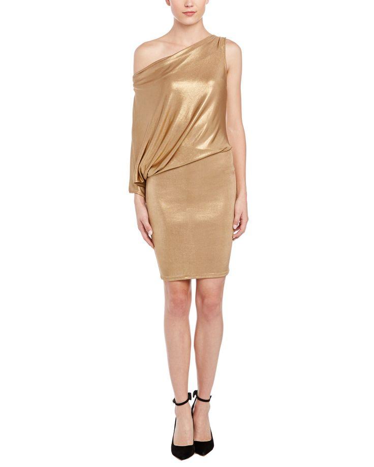 Spotted this BCBGMAXAZRIA Abrial Draped One-Shoulder Tunic Dress on Rue La La. Shop (quickly!).