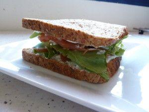 Sandwich saumon fumé - Hellya