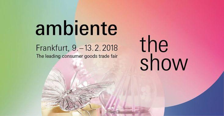 Ne pregătim pentru AMBIENTE 2018, ce va avea loc în Frankfurt în perioada 9-12 februarie 2018. La această expoziţie gândită pe conceptul Viitorul în prezent. Va fi o diversitate a de produse de Din…