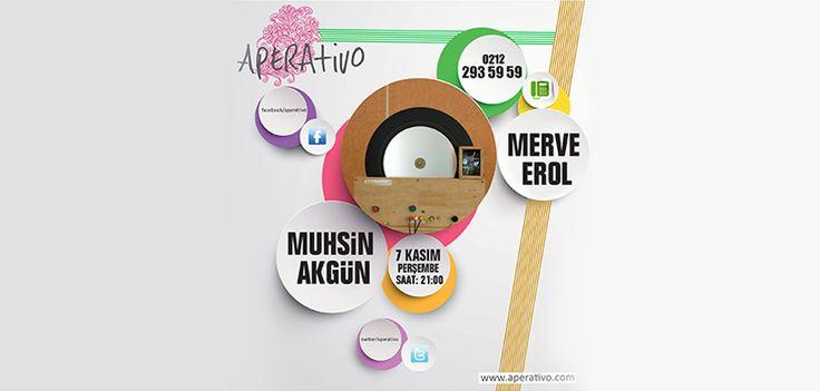 Aperativo;  Merve Erol ve Muhsin Akgün ile buluşmaya saatler kaldı. Saat 21:00 'da sizlerle...  www.aperativo.com   #eğlence #eğlencemekanı #aperativotaksim #karaoke #events #aperativo #merveerol #muhsinakgün