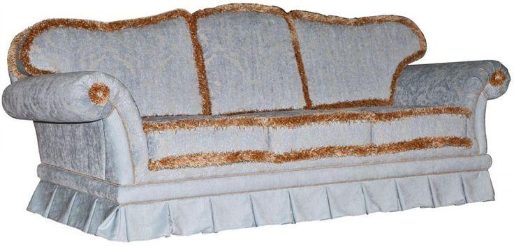 Диван Белла 1 трехместный из ткани в интернет-магазине Пинскдрев Мебель