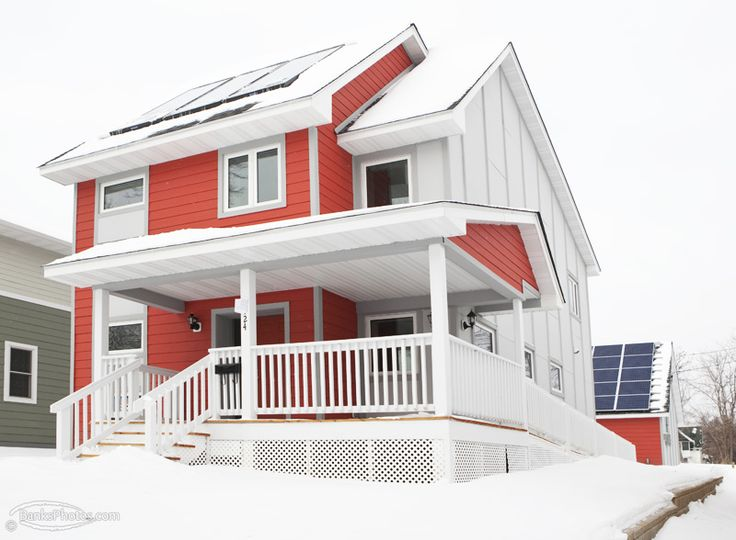 Net zero minneapolis habitat house designed by university of minnesota architecture students