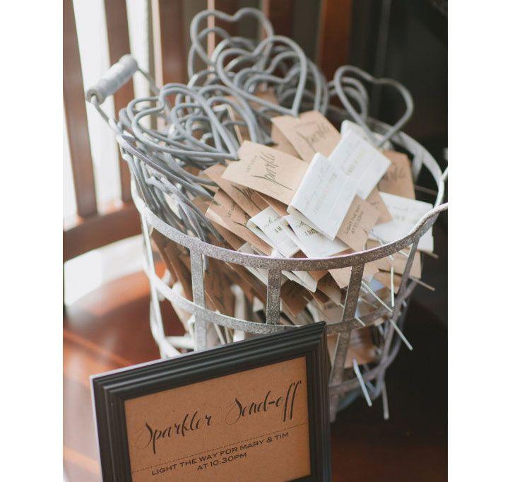 Heart Shaped Sparkler Favorss | Wedding Sparklers