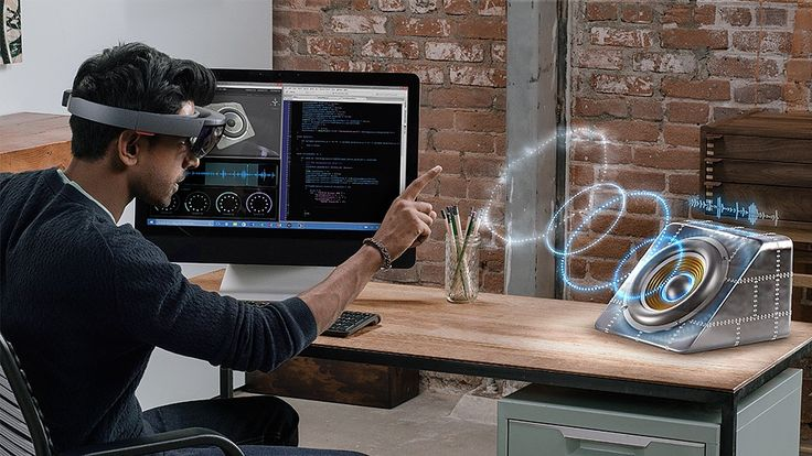 The amazing HoloLens is powered by Windows 10 which is the first platform to support holographic computing.