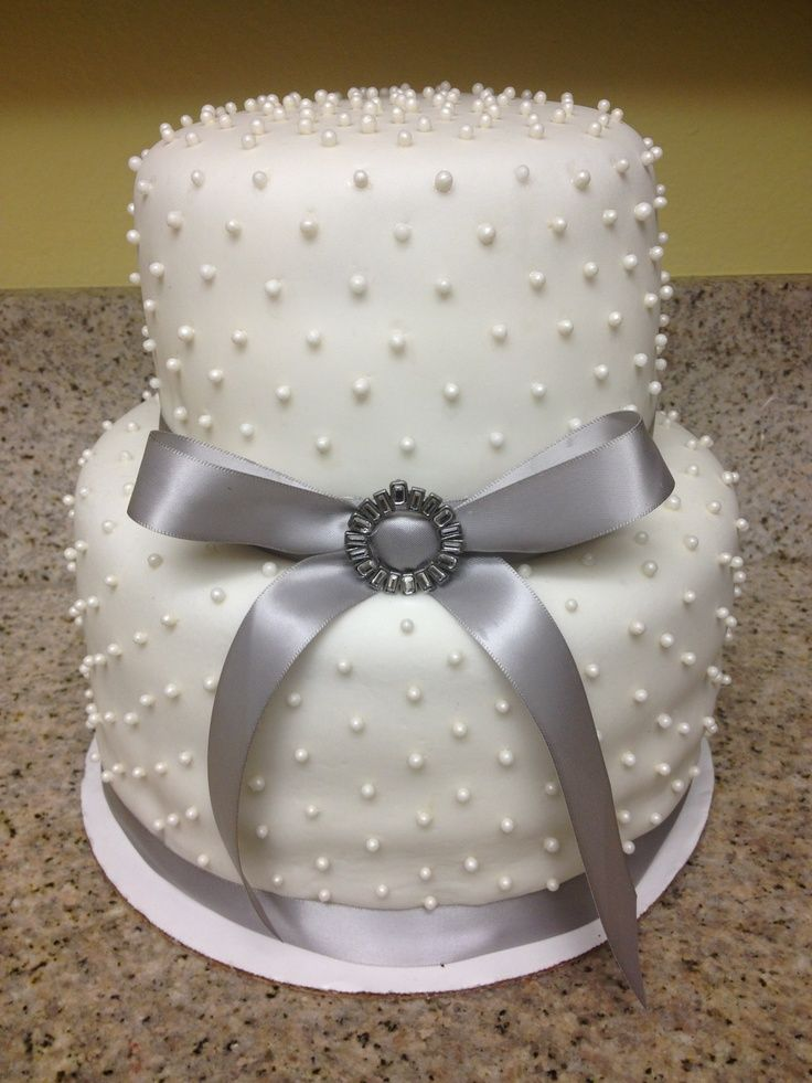 30 best Getting 25th Wedding Anniversary Cakes images on ...