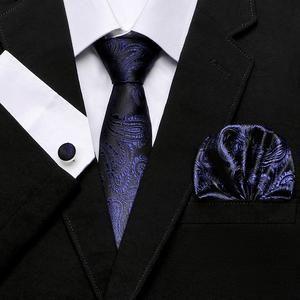 d3e87a2c56e8 Necktie, cufflinks & pocket square set Gift box packing Tie Sizes,  Jacquard Weave