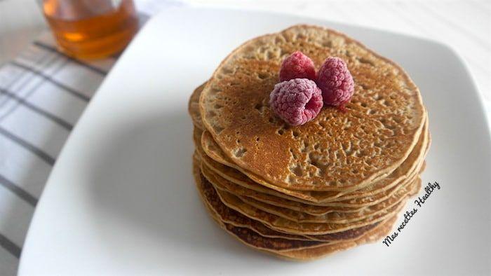 Blog de cuisine saine et savoureuse   Mes recettes Healthy #recette#crepe#pancake#semoule#milletrou#baghir#complete#pate