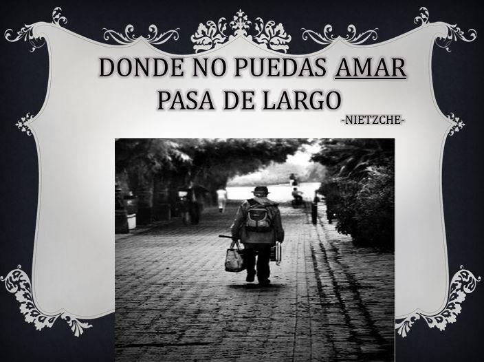 PASA DE LARGO...
