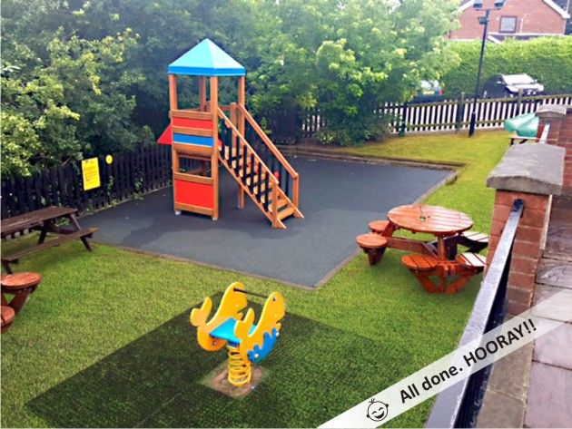 Lars Laj® | The Mundy Arms outside play area