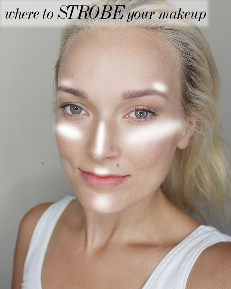 Strobing VS. Highlighting Your Makeup - http://citizensofbeauty.com/beauty-reviews/makeup-tips/how-to-strobe-your-makeup/