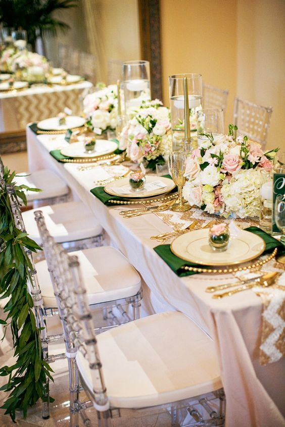 33 Best Emerald And Gold Weddings Images On Pinterest