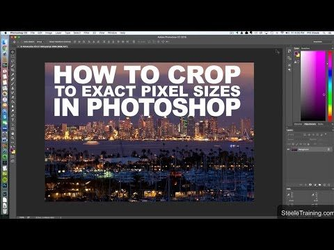 Photoshop Tip: How to Crop & Resize a Photo to Exact Dimensions in One Step
