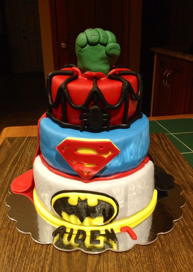 17 Best Images About Marvel Comic Book Cakes On Pinterest