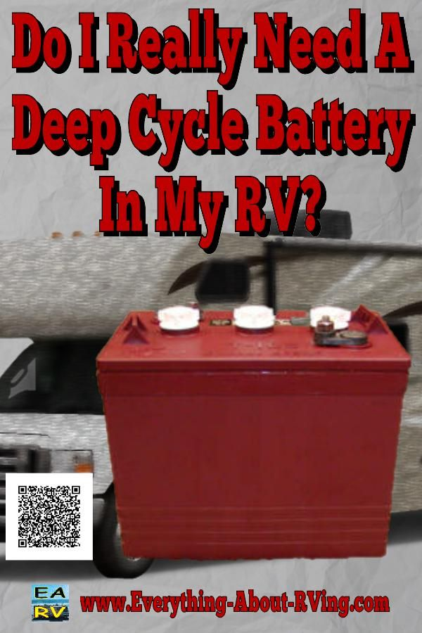 Here is our answer to: Do I Really Need A Deep Cycle Battery In My RV? The simple answer to your question is... Read More: http://www.everything-about-rving.com/do-i-really-need-a-deep-cycle-battery-in-my-rv.html HAPPY RVING! #rving #rv #camping #leisure #outdoors #rver #motorhome #travel