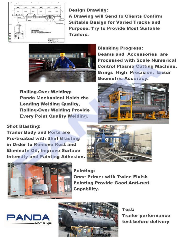 Tanker semi trailer - Shandong Panda Mechanical Co., Ltd.-The Semi Trailer Manufacturer