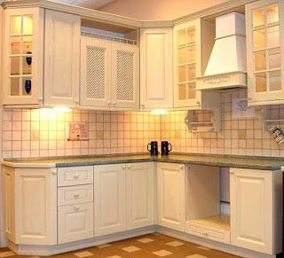Corner Kitchen Cabinet Designs Ideas To Maximize Small Kitchen Space Part 63