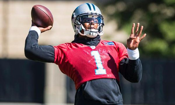 Cam Newton cleared to play