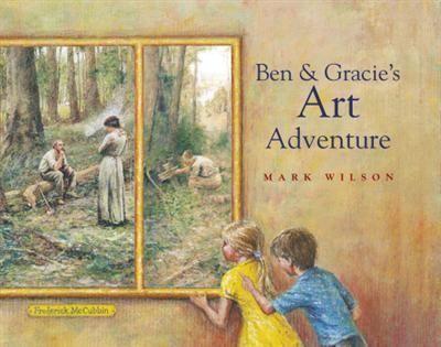 Ben and Gracie's Art Adventure. Kids explore the artwork of  great Aus artist Frederick McCubbin.