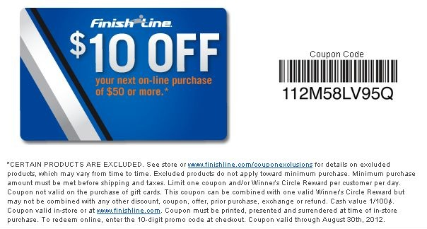 Finish Line Coupons. Finish Line is an online shop that offers athletic clothing, shoes & fan gear for women, kids and men. Start shopping and enjoy the best prices with Finish Line military discount, discount code, free shipping offer at newcased.ml!