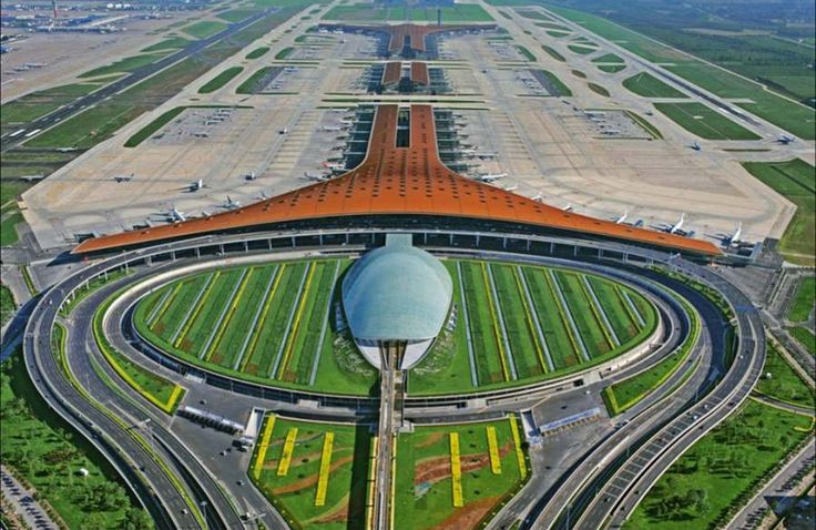 Check out the most beautiful airports in the world: http://666travel.com/the-10-most-beautiful-airports-in-the-world/ ... (Picture: Beijing Capital International Airport - Beijing, China)