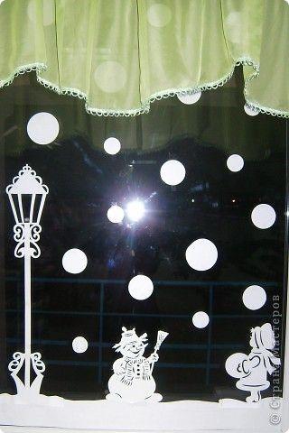 Украшение Новый год Вырезание Новый год в школе Бумага фото 6