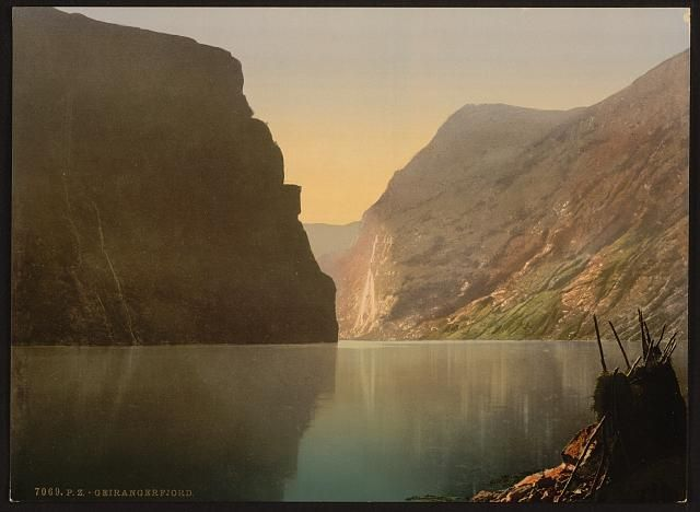 Geiranger Fjord, Norway  [between ca. 1890 and ca. 1900]