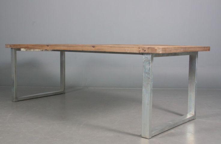 Spisebord genanvendt elmetræ - Lauritz.com