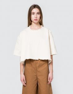 Tee Shirt in Cream