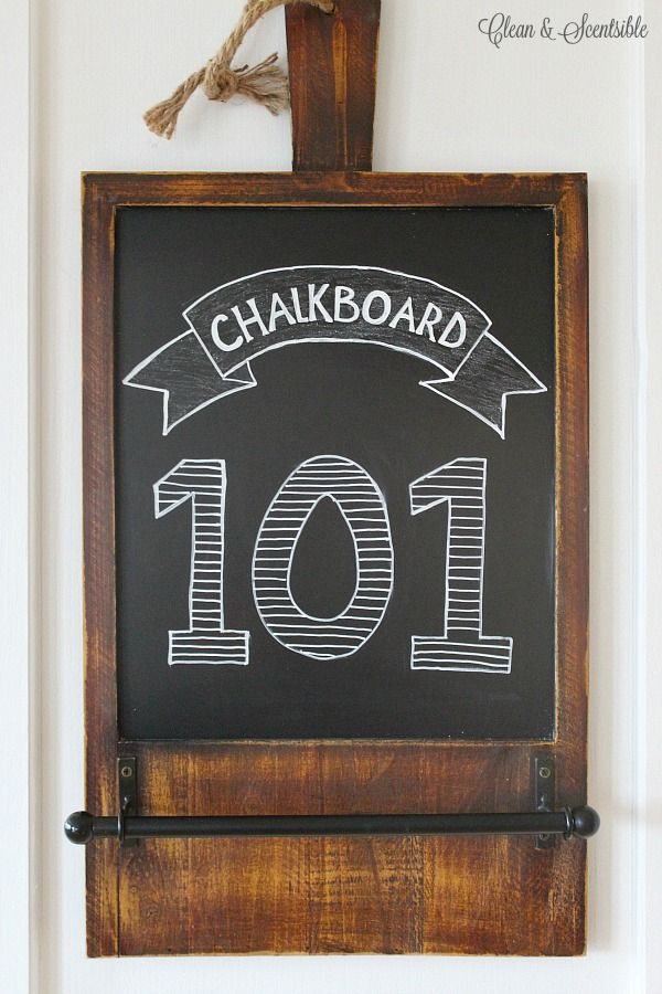 Chalkboard 101 - Learn the basics of chalkboard art including what tools you need to get started, how to pick a chalkboard, & basic chalkboard maintenance.