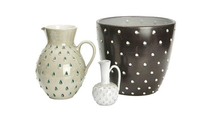 Trio of 1950s Swiss Studio Pottery