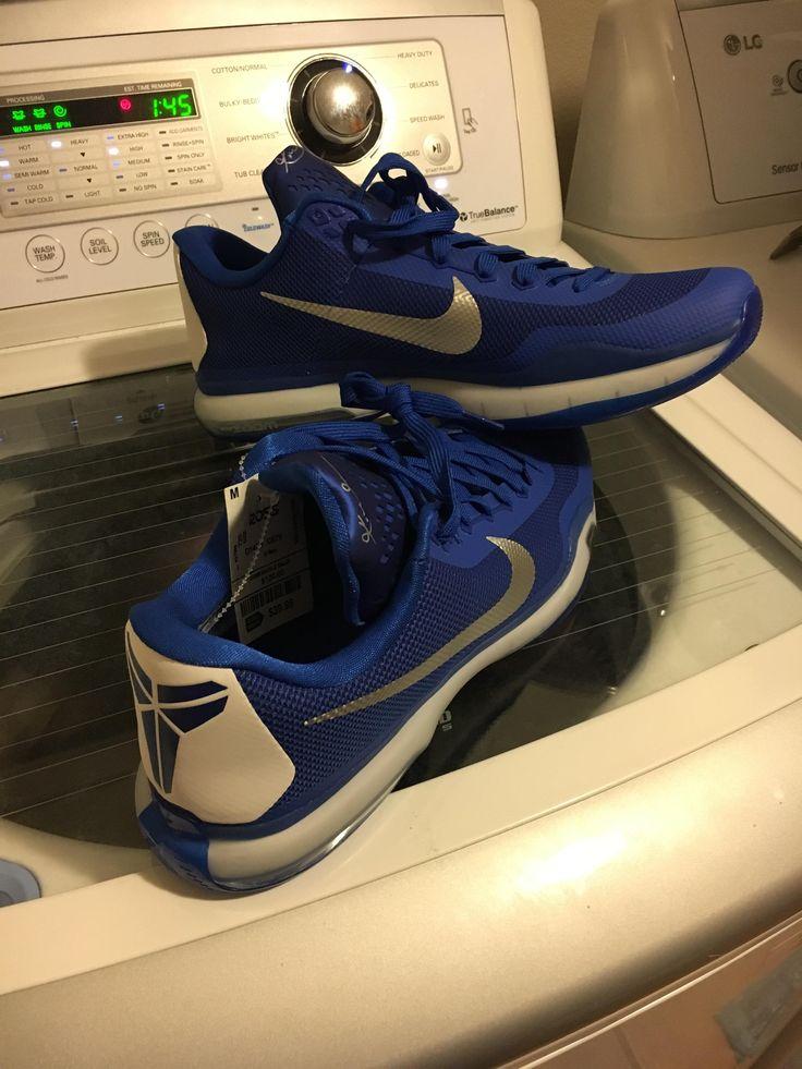 Basketball Shoes Pickup Blue Kobe X's