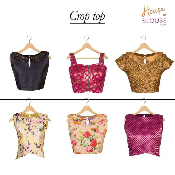 Crop it with style this summer!  Check out these cool yet dressy croptops created by various customers. Go ahead and give our 'STYLE CREATOR' a whirl - combine in ways you can only imagine :) Get inspired and create you own at http://ift.tt/2k95tUI #customercreation #croptops #creations #trendy #blouse #customise #customdesign #love #houseofblousedotcom