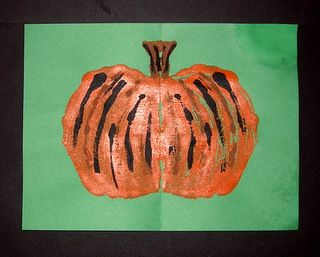 """FREE - Fall is almost here and Halloween is coming soon!  Great colors and fun during this season!  So, lets enjoy an """"easy-art"""" project for this time of the year.  http://www.teacherspayteachers.com/Product/Fall-Things-Easy-art-Mono-print-1387168 What fun it is to paint, and even more fun to experience printing with the painted object. It is almost like MAGIC! Download includes: Pdf lesson plan Photos/samples Outlining patterns"""