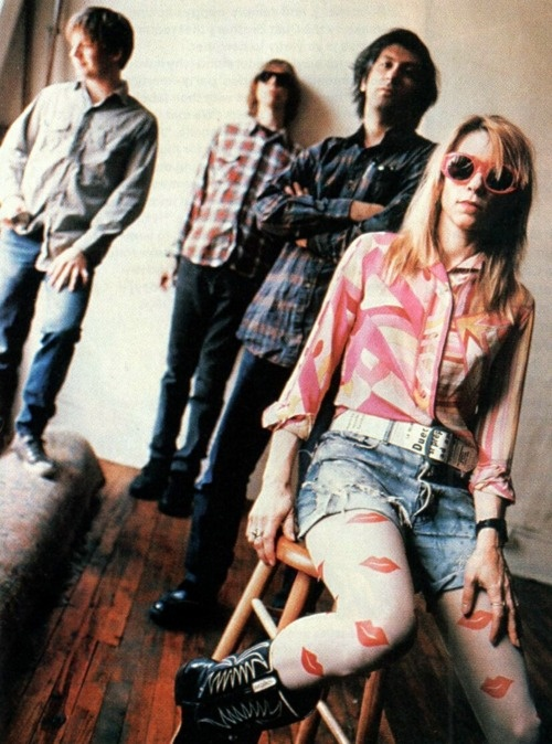 sonic youth. Just Look at Kim.