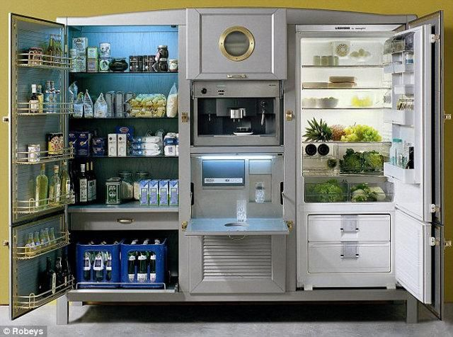 now that's a fridge!
