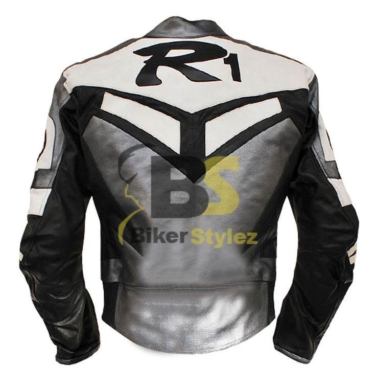 Yamaha r1 racing jackets r1 yamaha grey motorcycle for Yamaha r1 motorcycle jackets