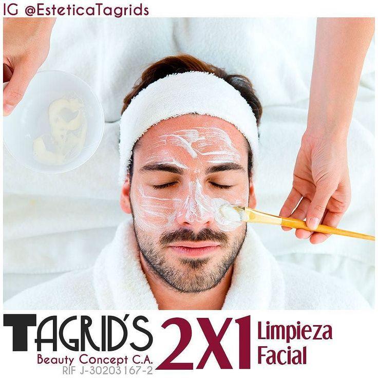 Aprovecha 2x1 en limpieza faciales tanto para ti como para tu esposa o mamá .... Los hombres también se cuidan .... . Para Información envia un SMS con la palabra LIMPIEZA al 04265901034 y te estaremos llamando .... . #HIFU #Ultherapy #Lifting #SinCirugia #Liposonix #Lipo #IPL #Limpieza #Facial #Sombreado #Tatuaje #Cejas #Pestañas #RadioFrecuencia #Salud #Belleza #SPA #Bella #Bolivar #CiudadBolivar #PtoOrdaz #CiudadGuayana #Venezuela #Brasil #EsteticaTagrids