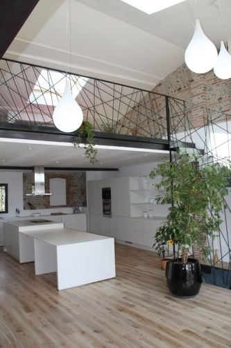 1000 id es sur le th me salon mezzanine sur pinterest for Architecture interieure maison