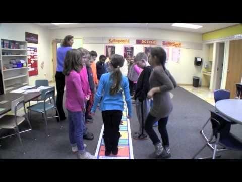 Math & Movement in Third Grade - part 2 - YouTube