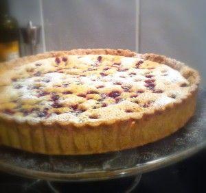 Blackcurrant Frangipane Tart Recipe | Easy Peasy Baking