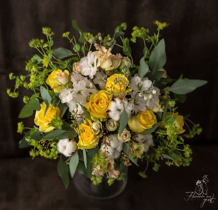 Buchet de flori- marca Florarie cu gust