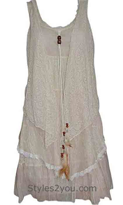 Pretty Angel Clothing Sweetie Tunic In Carmel