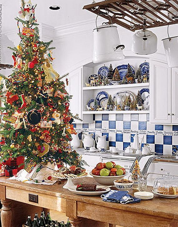 Christmas Kitchen Decorating Ideas | Unique Kitchen Decorating Ideas For  Christmas_65 #CopperKitchenDecor