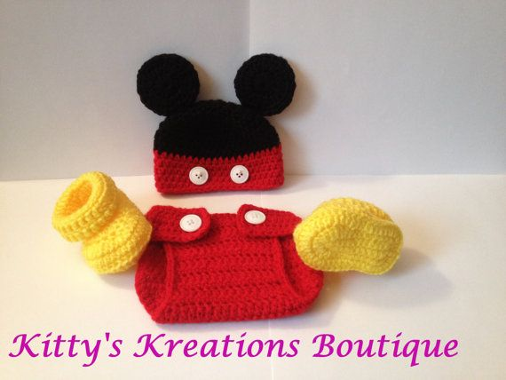 Mickey Mouse Outfit  Photo Prop   All Sizes by KittysKreationsB