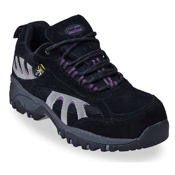 McRae Industrial Womens Black XRD Metatarsal Guard Steel Toe Work Boots