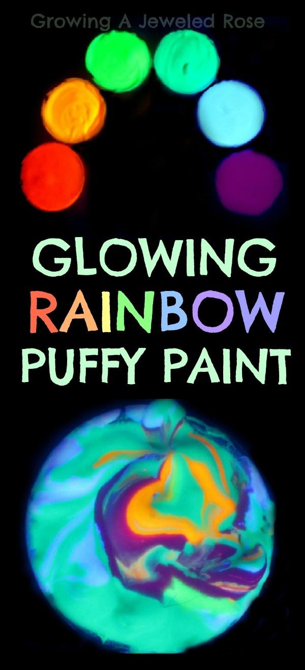 "Glowing Paint Recipe ("",)"