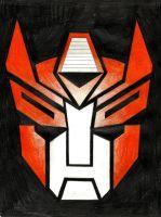 Autobot Insignia - OC Blaze Vixen by LadyIronhide