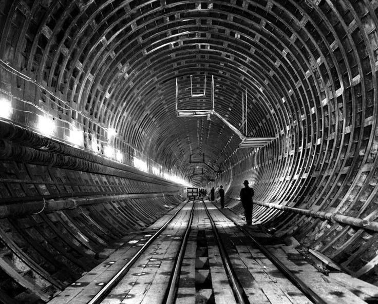 Callahan Tunnel 1961 Boston Massachusetts Pinterest